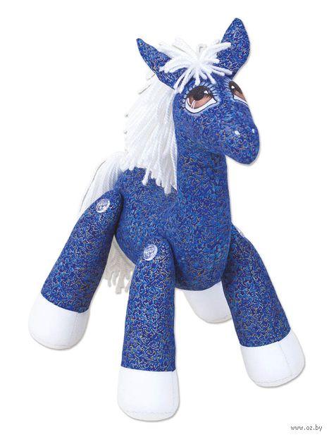 """Набор для шитья из ткани """"Лошадка Анютка"""" — фото, картинка"""