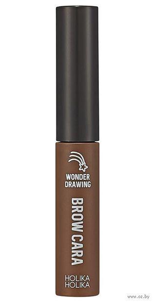 "Тушь для бровей ""Wonder Drawing 1 Sec Finish Browcara"" тон: 06, шоколадно-коричневый — фото, картинка"