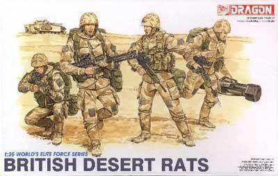 """Набор миниатюр """"Британская армия"""" (масштаб: 1/35) — фото, картинка"""
