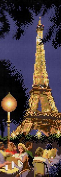 """Вышивка крестом """"Вечерний Париж"""""""
