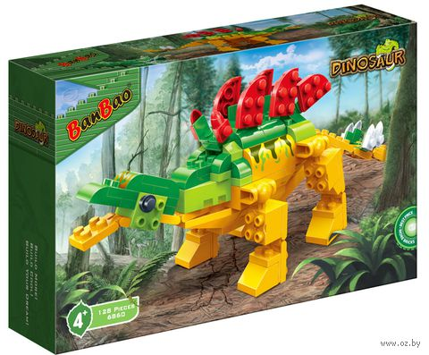 """Конструктор """"Динозавр"""" (128 деталей)"""