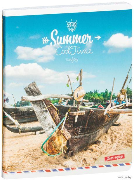 """Тетрадь общая в клетку """"Summer. Cool Time"""" (96 листов; в ассортименте)"""