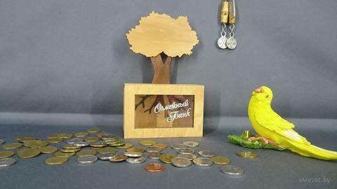 "Копилка ""Дерево. Семейный банк"" (арт. S00036) — фото, картинка"