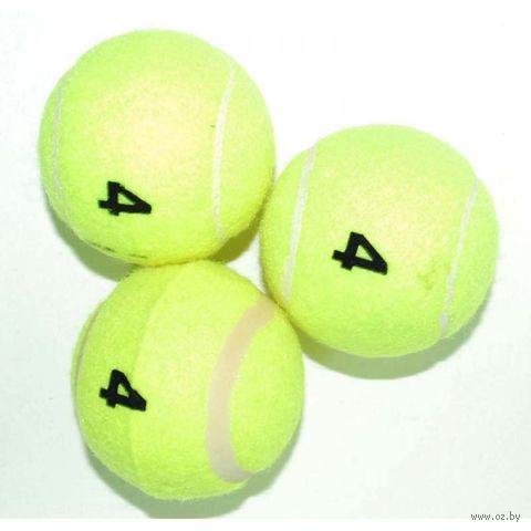Мячи для большого тенниса (3 шт.; 4 сорт; арт. TO304) — фото, картинка
