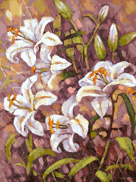 "Картина по номерам ""Нормандские лилии"" (300х400 мм) — фото, картинка"