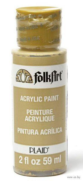 "Краска акриловая ""FolkArt. Acrylic Paint"" (коричневый твил, 59 мл; арт. PLD-00602)"