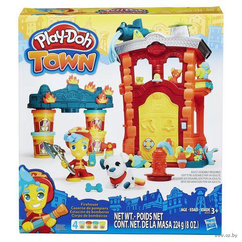 """Набор для лепки """"Play-Doh. Пожарная станция"""" — фото, картинка"""