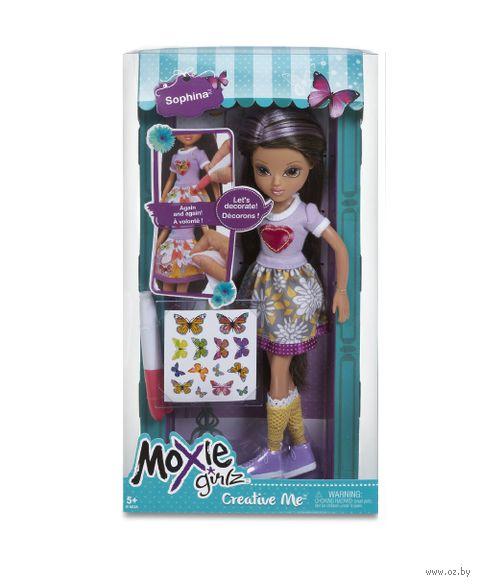 """Кукла """"Moxie Girlz. Раскрась меня - Софина"""""""