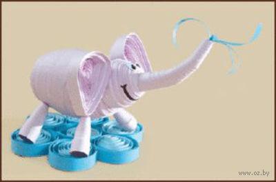 "Набор для квиллинга ""Слон"""