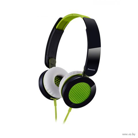 Наушники Panasonic RP-HXS200E-G (зеленые) — фото, картинка
