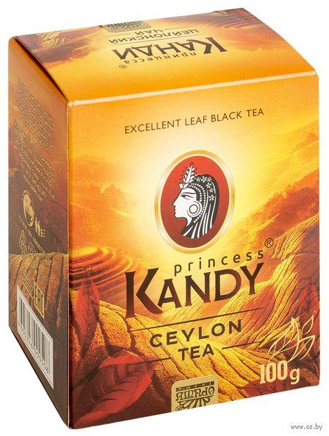 """Чай черный листовой """"Принцесса Канди. Медиум"""" (100 г) — фото, картинка"""