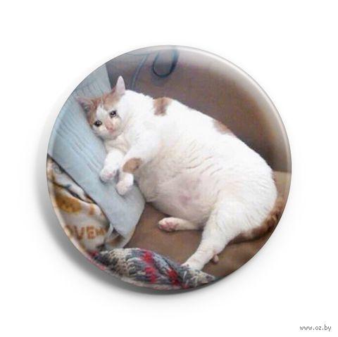 "Значок маленький ""Кот"" (арт. 420) — фото, картинка"