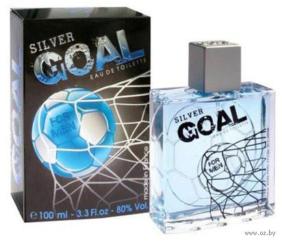 """Туалетная вода для мужчин """"Silver Goal"""" (100 мл)"""