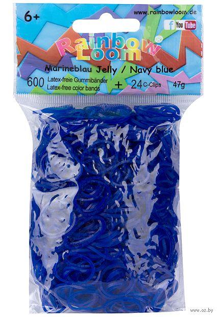 """Набор резиночек для плетения """"Rainbow Loom. Темно-синие"""""""