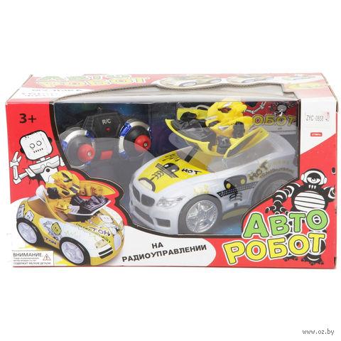 """Игрушка на радиоуправлении """"Авто Робот"""" (арт. ZYC-0858-4B)"""