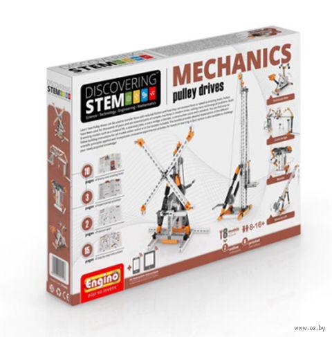 """Конструктор """"Discovering Stem. Механика. Блоки"""" (106 деталей) — фото, картинка"""