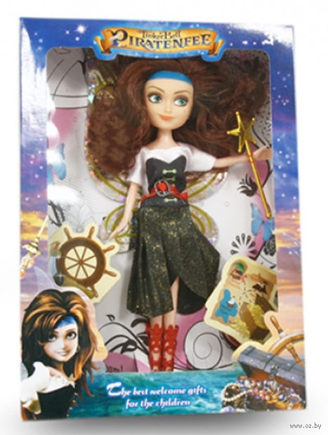 "Кукла ""Загадки пиратского острова. Фея"" — фото, картинка"