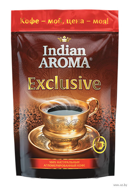 "Кофе растворимый ""Indian Aroma. Exclusive"" (75 г) — фото, картинка"