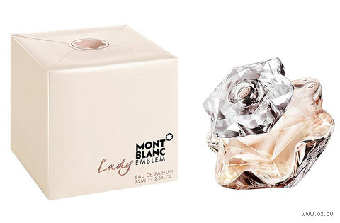 """Парфюмерная вода для женщин Mont Blanc """"Lady Emblem"""" (75 мл) — фото, картинка"""