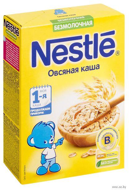 """Детская каша Nestle """"Овсяная"""" (200 г) — фото, картинка"""