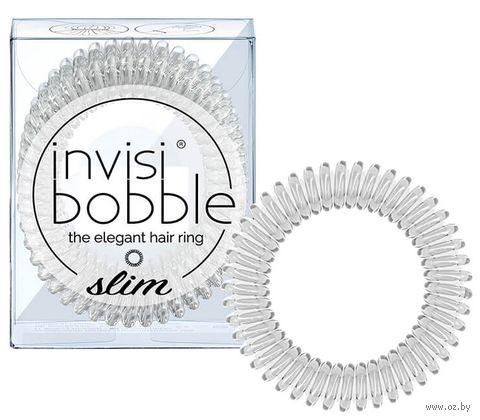 "Набор резинок-браслетов для волос ""Slim Crystal Clear"" (3 шт.; арт. 3095) — фото, картинка"