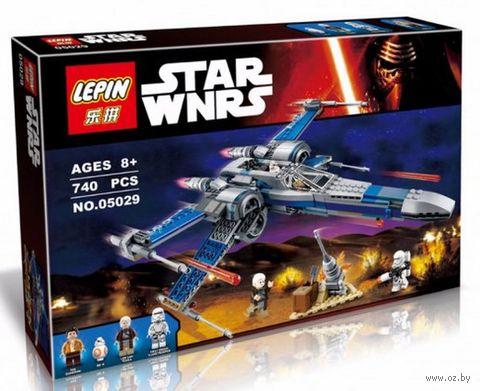 """Конструктор Star Wars """"Истребитель X-Wing Сопротивления"""" — фото, картинка"""