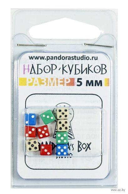 """Набор кубиков D6 """"Нано-кубик"""" (5 мм; 10 шт.) — фото, картинка"""