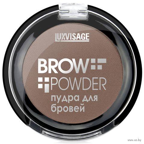 """Пудра для бровей """"Brow Powder"""" тон: 2, soft brown — фото, картинка"""
