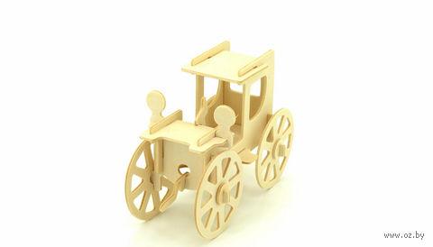 """Сборная деревянная модель """"Автомобиль"""" (Большой)"""