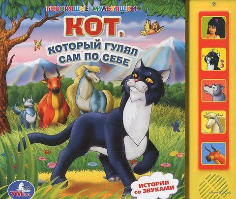 Кот, который гулял сам по себе. Книжка-игрушка — фото, картинка