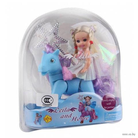 """Кукла """"Малышка с пони"""""""
