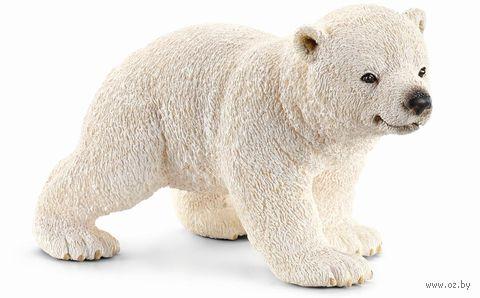 """Фигурка """"Белый медвежонок"""" (4 см)"""