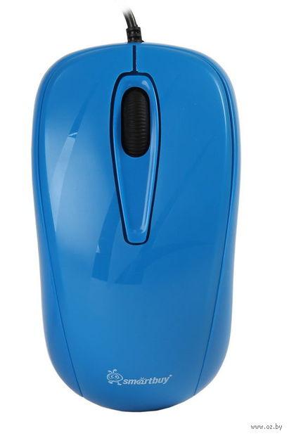 Проводная оптическая мышь Smartbuy 310 (Cyan)