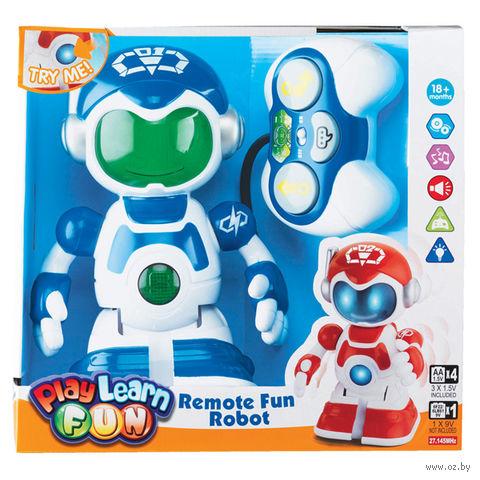 """Робот на радиоуправлении """"Веселый"""" (со звуковыми и световыми эффектами)"""