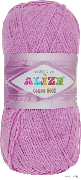 "Пряжа ""ALIZE. Cotton Gold №98"" (100 г; 330 м) — фото, картинка"