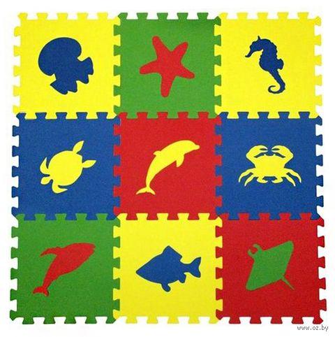 """Пазл-коврик """"Морские животные"""" (9 элементов) — фото, картинка"""