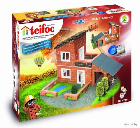 """Конструктор """"Teifoc. Вилла с гаражом"""" (330 деталей) — фото, картинка"""