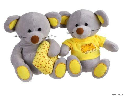 """Мягкая игрушка """"Мики с сыром"""" (20 см) — фото, картинка"""