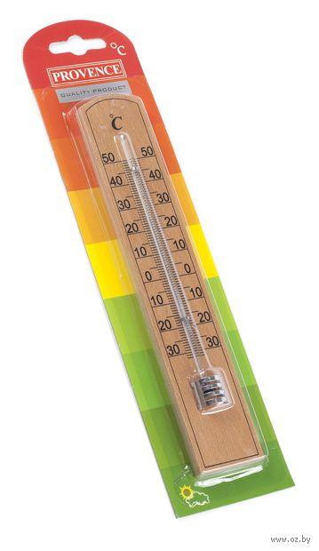 Термометр комнатный в деревянном корпусе (арт. 410011) — фото, картинка