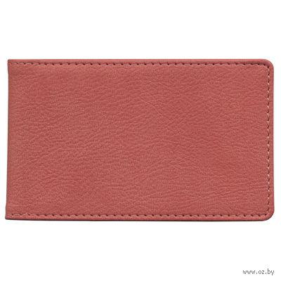 """Футляр для кредитных карт Time/System """"Aston"""" (dark red)"""
