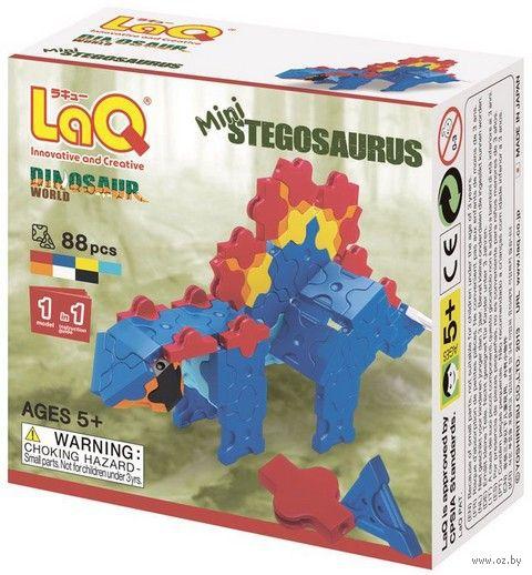 "Конструктор ""LaQ. Mini Stegosaurus"" (88 деталей)"