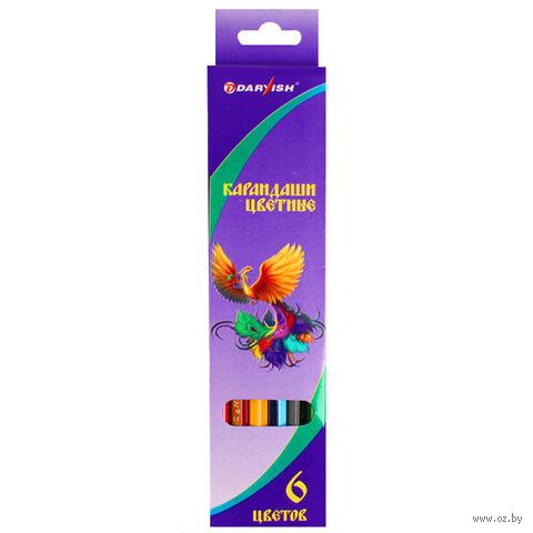 "Цветные карандаши ""Darvish"" (6 цветов; арт. DV-118-6)"