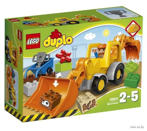 """LEGO Duplo """"Экскаватор-погрузчик"""""""