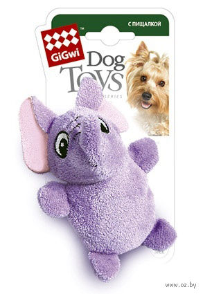 """Игрушка для собак """"Слон"""" (9 см)"""