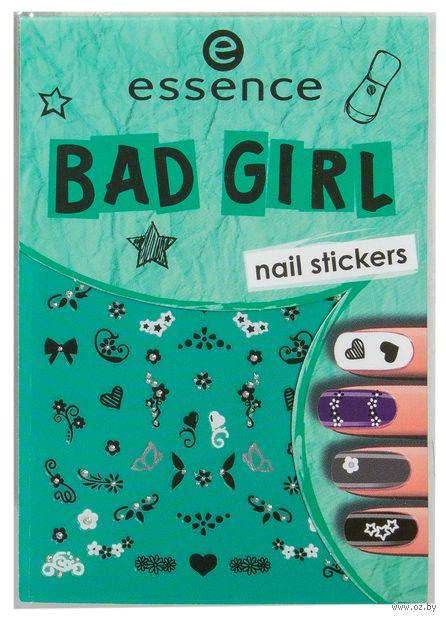 """Наклейки для дизайна ногтей """"Bad Girl"""" (тон: 02) — фото, картинка"""