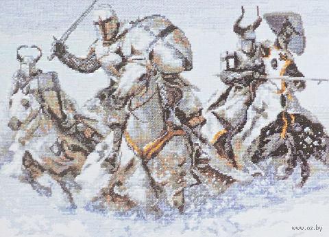 "Вышивка крестом ""Рыцари"" (360х260 мм) — фото, картинка"