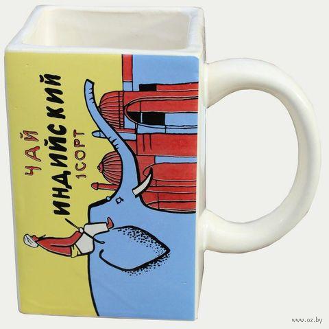"""Кружка """"Чай со слоном"""" — фото, картинка"""