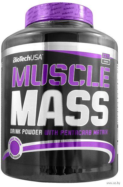 """Гейнер """"Muscle Mass"""" (2270 г; шоколад) — фото, картинка"""