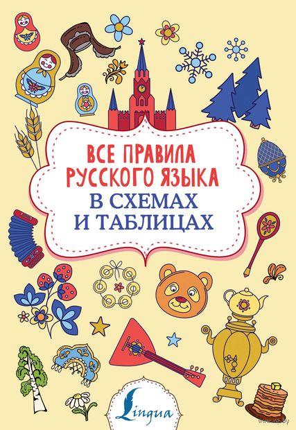 Все правила русского языка в схемах и таблицах — фото, картинка