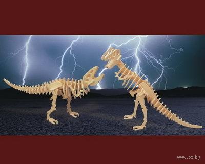 """Сборная деревянная модель """"Тираннозавр"""" (2в1) — фото, картинка"""